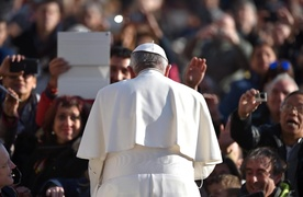Papież: To skandal i hańba ludzkości