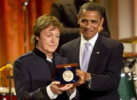 Paul McCartney uhonorowany