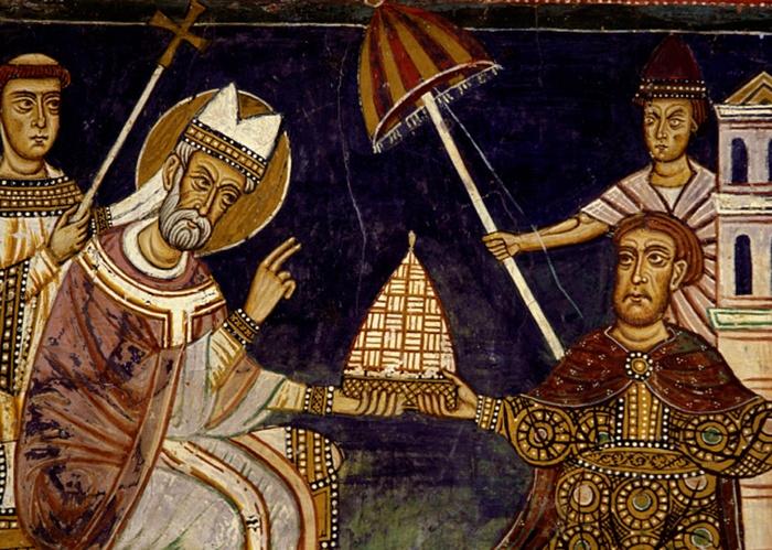 św. Sylwester - papież nowej epoki - www.malygosc.pl