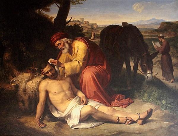 Znalezione obrazy dla zapytania miłosierny samarytanin