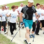 Start do nordic walking