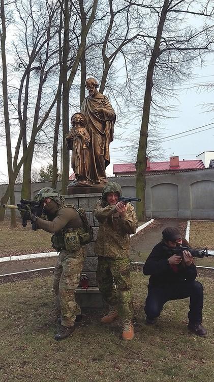 Marines spotykają się ze sobą