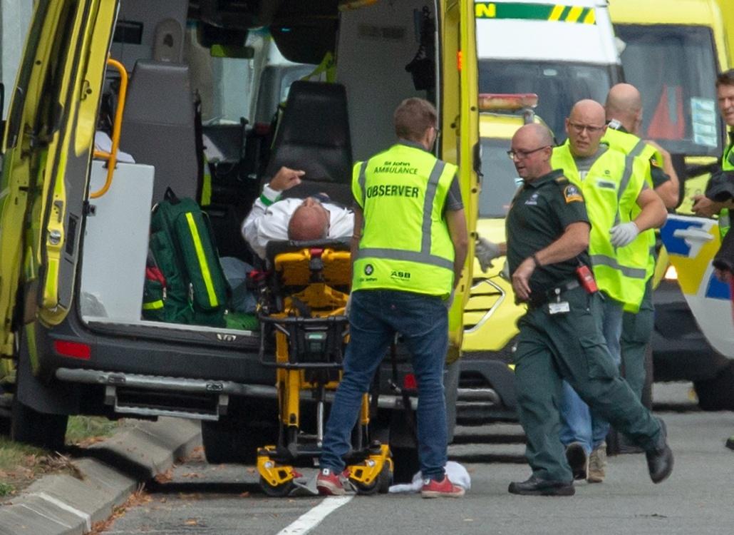 Strzelanina W Nowej Zelandii Detail: Tragiczne Strzelaniny W Dwóch Meczetach Nowej