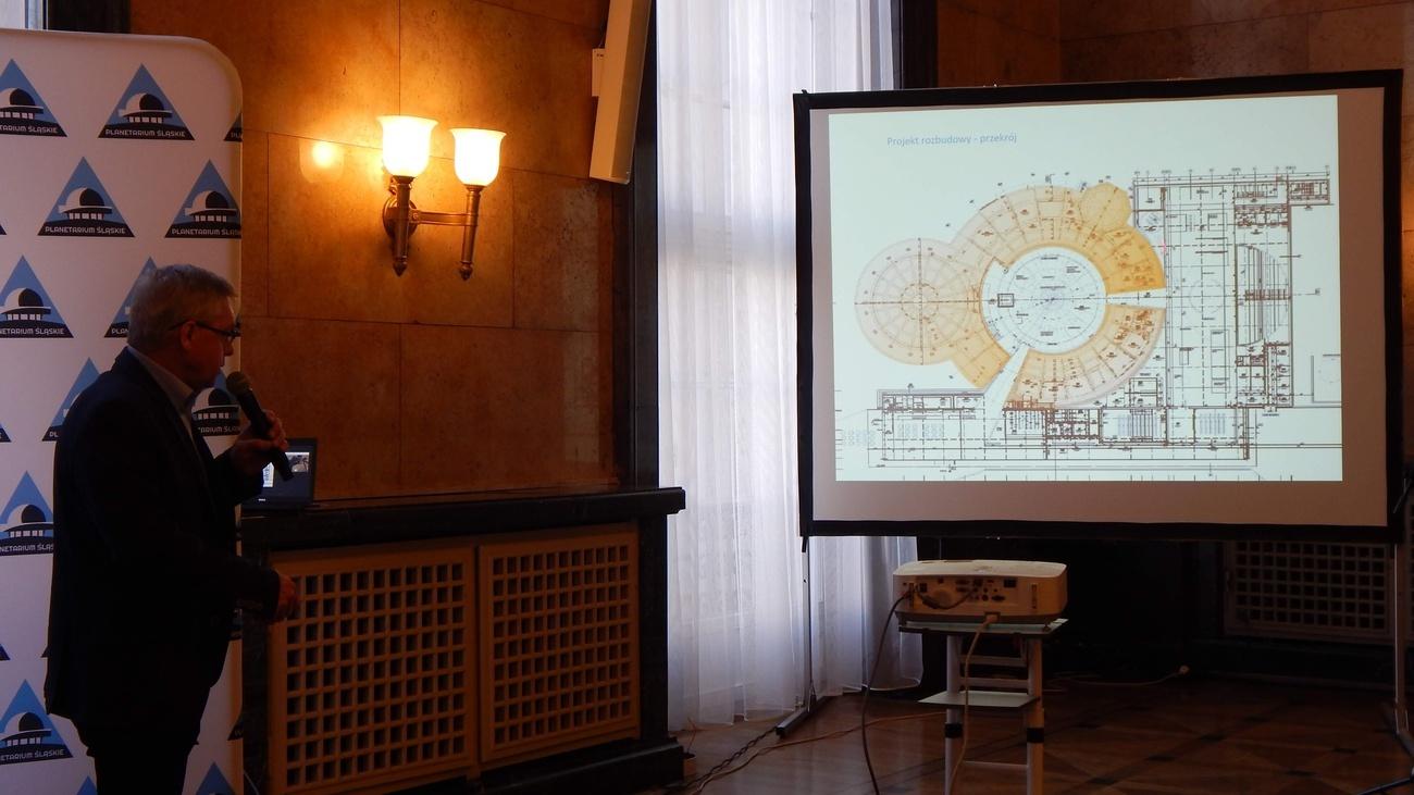d2f11db7feed4d Modernizacja Planetarium Śląskiego. Umowę podpisano w Urzędzie  Marszałkowskim