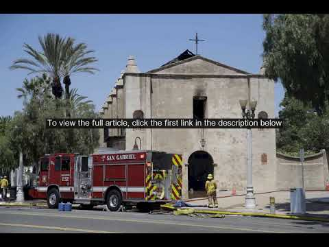 249-year-old California church damaged by fire, investigation underway