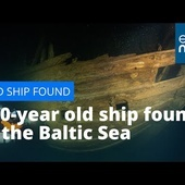 A 400-year old ship has been found in the Baltic Sea